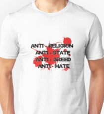 Anti - Punk Rock Slogan Unisex T-Shirt