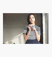 Jisoo Photographic Print