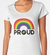 Rainbow Proud Women's Premium T-Shirt