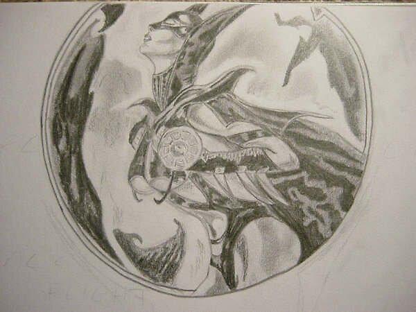 Bat woman by Ammaarah