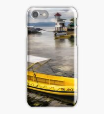 Yellow Tour Boat iPhone Case/Skin