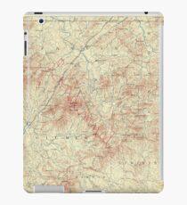 USGS TOPO Map Georgia GA Ellijay 247735 1888 125000 iPad Case/Skin