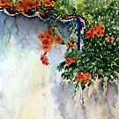 Telhado florido by ISABEL ALFARROBINHA