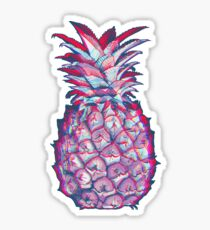 Psychadelic Pineapple Sticker