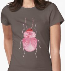 Sarcastic Beetle Womens Fitted T-Shirt