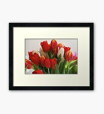 A Bouquet of Love Framed Print