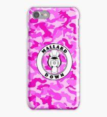Pink Camo - Mallard Down iPhone Case/Skin