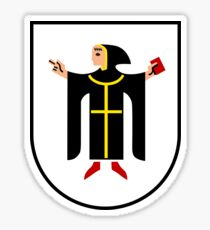 München Coat of arms Sticker