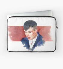 Cillian Murphy / Peaky blinders / Watercolor Portrait  Laptop Sleeve