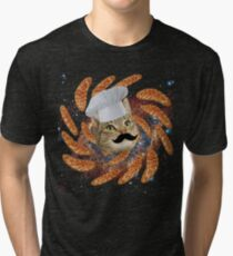 Chef Cat Tri-blend T-Shirt