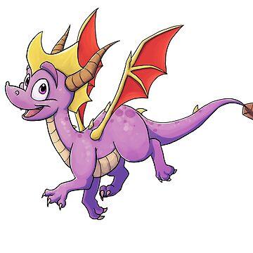 Spyro the Dragon by BlazeTFD