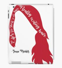Jenna Marbles Youtuber quote iPad Case/Skin