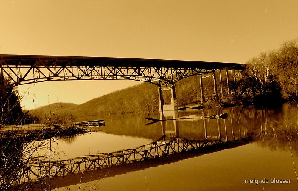 bridge sepia by melynda blosser
