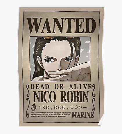 Robin wanted poster