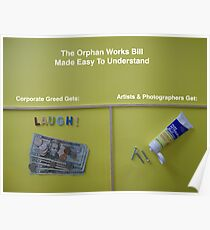 The Orphan Works Bill Made Easy To Understand Poster