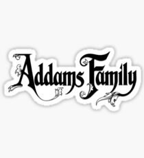 The Addams Family Sticker