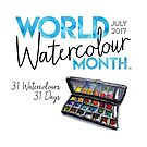 World Watercolour Month™ 2017 (alternate spelling) by doodlewash