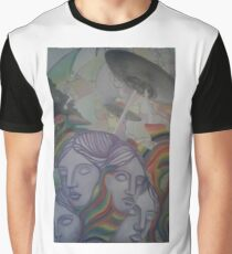 Psychedelic Alien Overlords Graphic T-Shirt