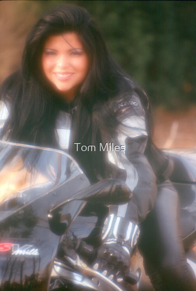 Biker Chick by Tom Miles