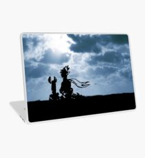 The LITTLE PRINCE and the fox - dream version - quote Laptop Skin