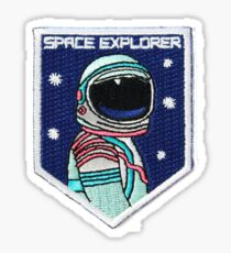 Space Explorer patch Sticker
