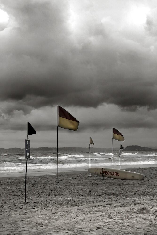 Beach storm by ozjohnson