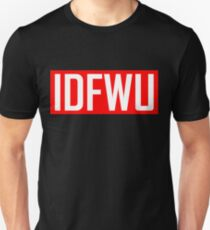 IDFWU - Red and White T-Shirt