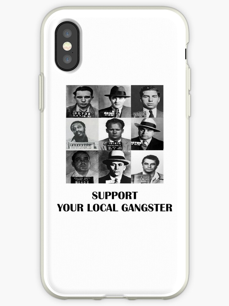 'Gangsters notorious local mafia Padrino Capone Policel' iPhone Case by  GarciaPayan