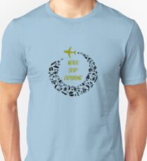 Never Stop Exploring simply Travel and See The World T-Shirt T-Shirt