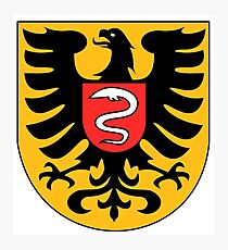 Aalen coat of arms, Germany Photographic Print
