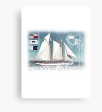 american schooner Metal Print
