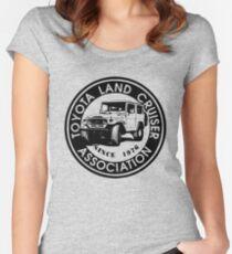 Toyota Land Cruiser Association Women's Fitted Scoop T-Shirt