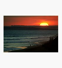 Last Surf,13Th Beach,Bellarine Peninsula Photographic Print