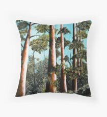 Giant Trees of South West WA Throw Pillow