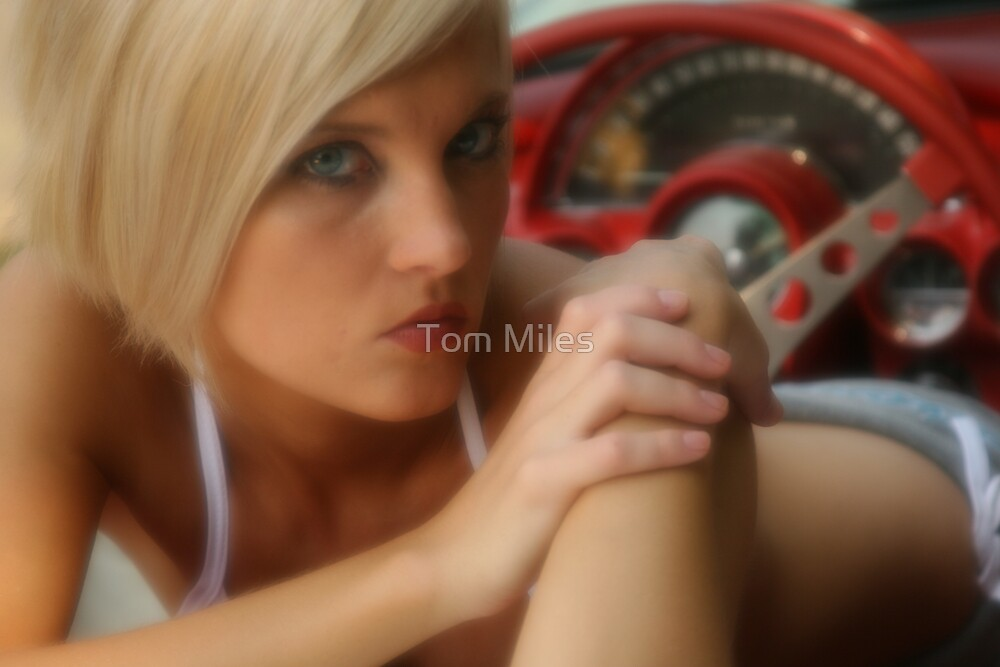 Alissa in Vette by Tom Miles