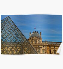 Musee du Louvre Poster