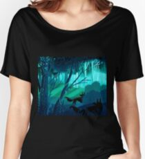 Shadow Wolves Stalk The Silver Wood Women's Relaxed Fit T-Shirt
