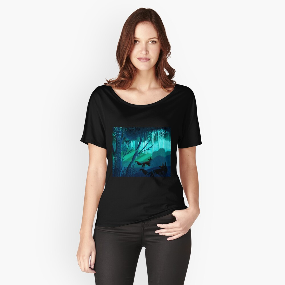 Shadow Wolves Stalk The Silver Wood Relaxed Fit T-Shirt