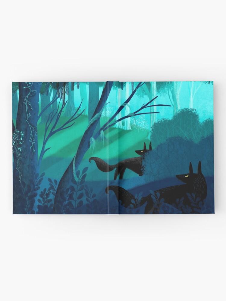 Alternative Ansicht von Schattenwölfe Stalk The Silver Wood Notizbuch