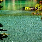 Turquoise Devil's Lake Oregon by damhotpepper