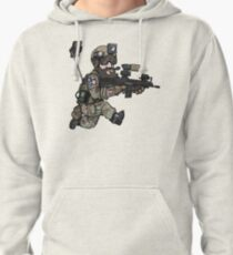The social airsofter Pullover Hoodie