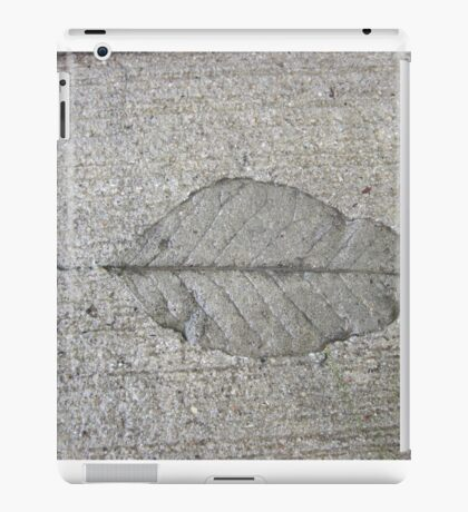 Sidewalk Art by Leaf iPad Case/Skin