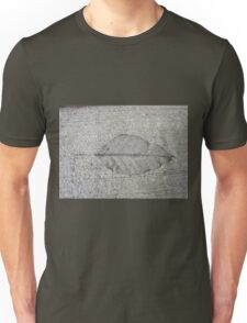 Sidewalk Art by Leaf T-Shirt