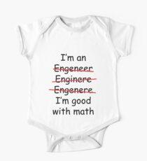 I'm an Engineer One Piece - Short Sleeve