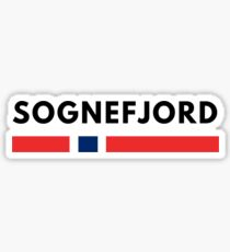 Sognefjord Norway Sticker