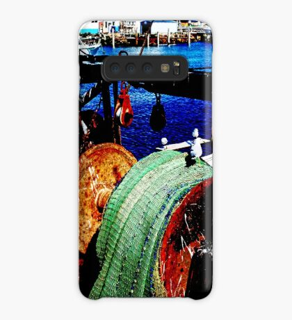 Das Fischerboot Hülle & Klebefolie für Samsung Galaxy