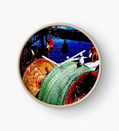 Das Fischerboot Uhr
