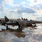 Old jets lined up by wolf6249107