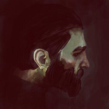 Blackwall Portrait by art-by-let
