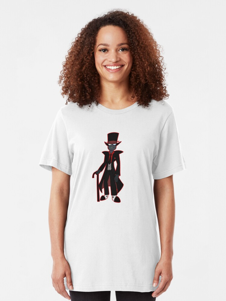 Alternate view of Black Hat Slim Fit T-Shirt